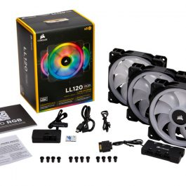 CORSAIR LL120 RGB LED 3FAN PACK