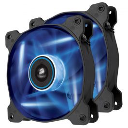 AF 120 LED FAN TWIN PACK BLUE