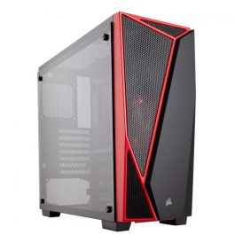SPEC-04 TEMPERED GLASS GAMING CASE