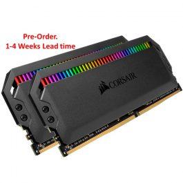 CORSAIR DOMINATOR PLATINUM RGB 16GB( 8GB*2) 3600MHz DDR4 MEMORY