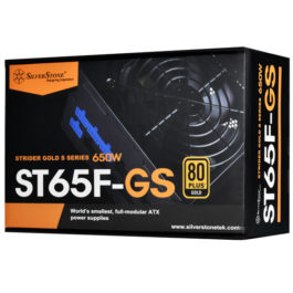 SilverStone ST65F-GS 80 PLUS GOLD MODULAR 650W PSU